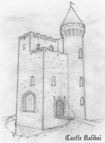 castle kalikai sketch
