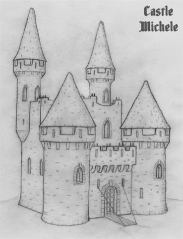 Castle Michele sketch